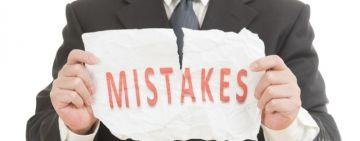 Mistakes of forex trading we make