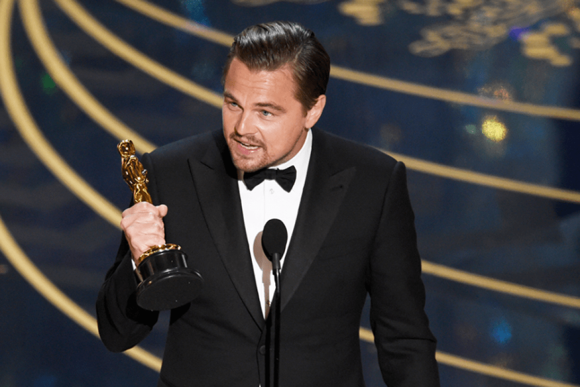 Leonardo Dicaprio will have to give the Oscar back