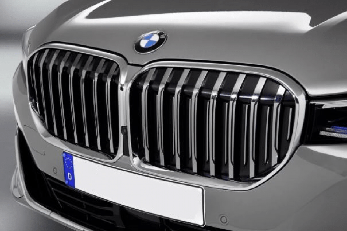 New BMW 7 model is super-pretty