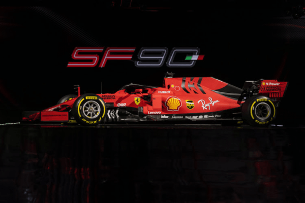 Ferrari invested in the new race car... and it is gorgeous