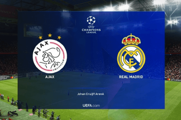 Real Madrid-Ajax. Who will win the next game? Send your answer to investingchef@gmail.com