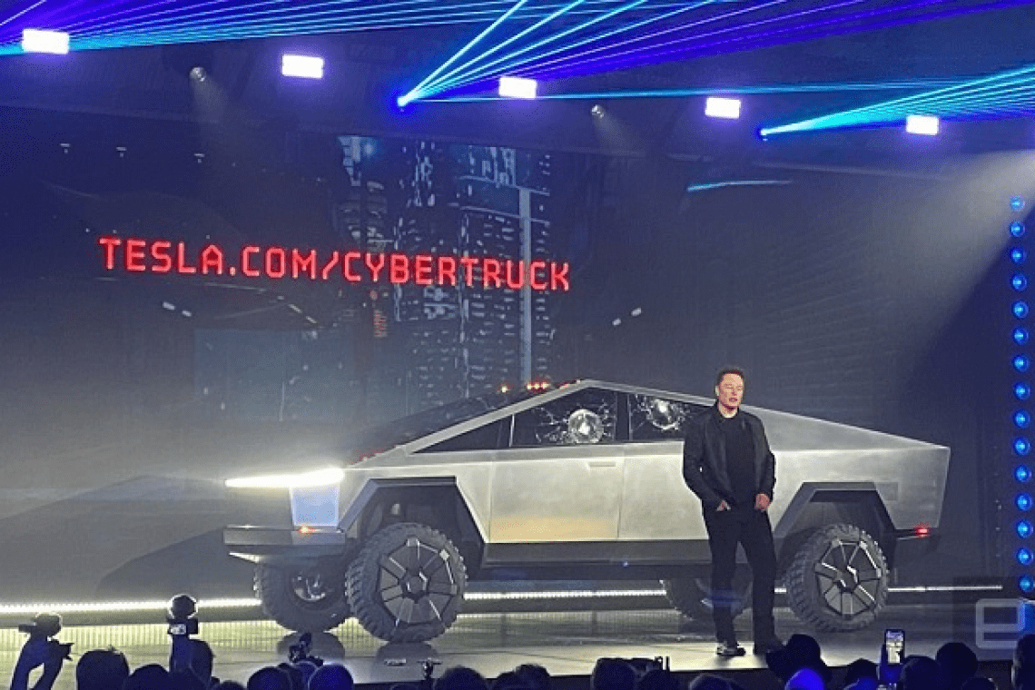 Watch Elon Musk announce and unveil Tesla Cybertruck