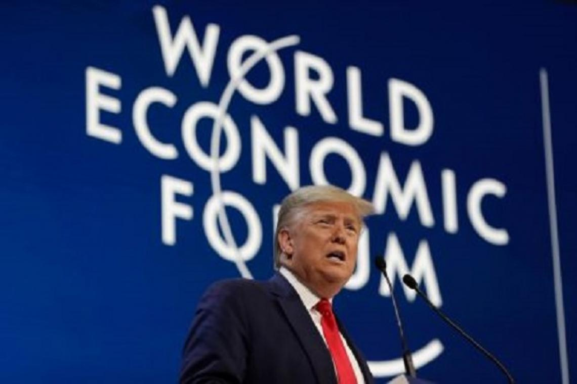 Watch: Donald Trump delivers key note speech at Davos Economic Forum 2020