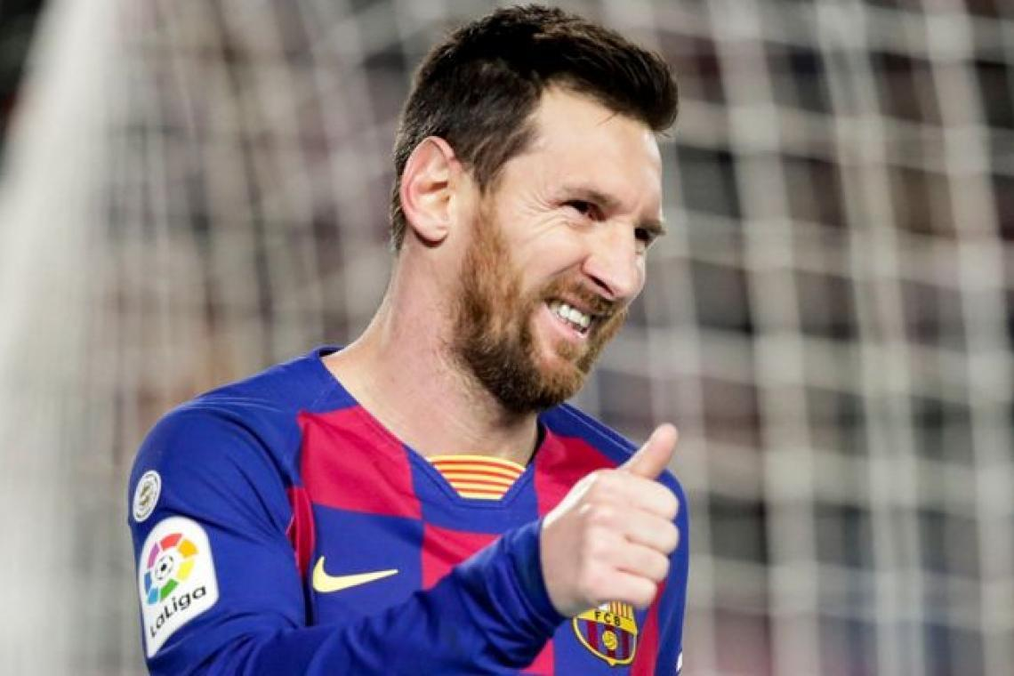 Lionel Messi set yet another record