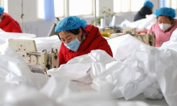 Chinese firms use incomprehensible legal tactics to curb losses from viruses.