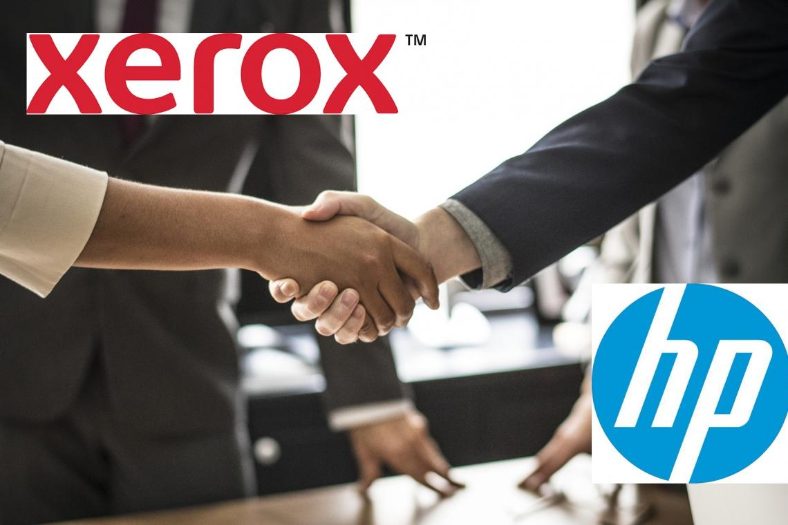Xerox opens a trade request to take over HP