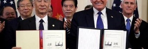 USA and China finally sign phase 1 trade deal!