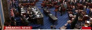 US Senate officially started impeachment hearings.